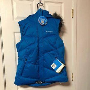 Blue Columbia Omni-Shield Vest